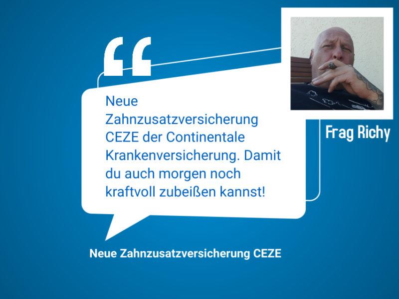 Neue Zahnzusatzversicherung CEZE bietet 100 Prozent Rundumschutz