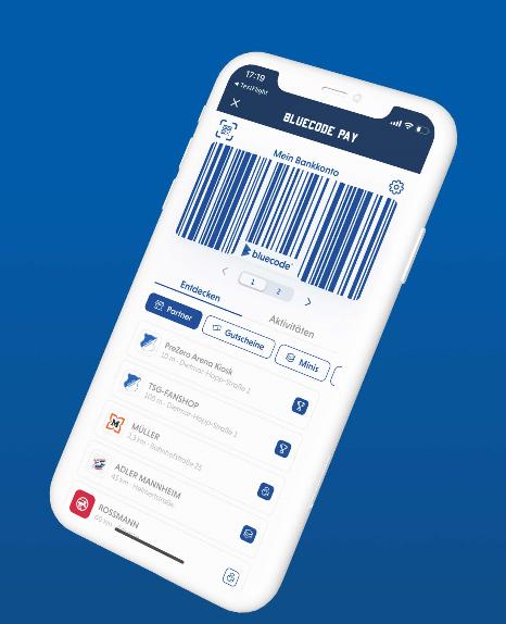 Bluecode und die TSG Hoffenheim starten mobiles Bezahlen per App in der PreZero Arena