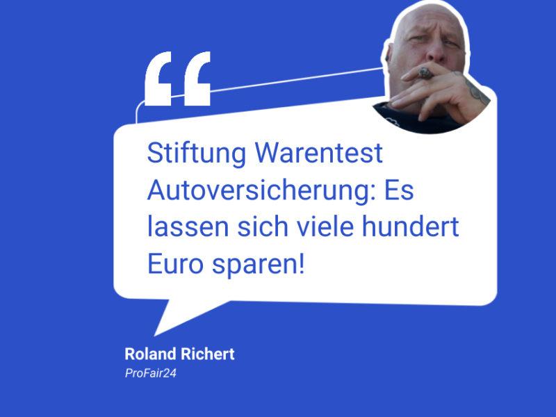 Stiftung Warentest sagt: Wechsel der Autoversicherung hat großes Sparpotential