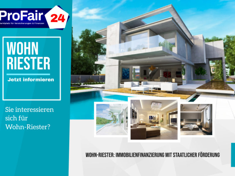 Wohn-Riester: So kommen Sie günstiger in Ihr Eigenheim